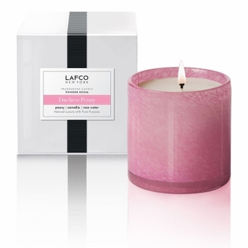 Lafco 15.5 oz Duchess Peony Signature Candle - Powder Room