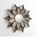 Large Blossom Mirror by Cyan Design