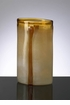 Large Cream Cognac Glass Vase by Cyan Design