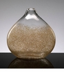 Large Gold Dust Glass Vase by Cyan Design