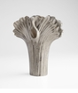Large Nickel Alloy Palm Vase by Cyan Design