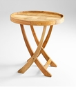 Large Rustica Tray Table by Cyan Design