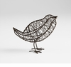 Large Wire Iron Bird Sculpture by Cyan Design