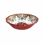 Le Cadeaux Allegra Red Cereal Bowl