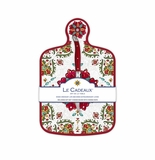 Le Cadeaux Allegra Red Cheese Board Set