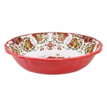 Le Cadeaux Allegra Red Salad Bowl For Two