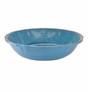 Le Cadeaux Antiqua Blue Salad Bowl For Two