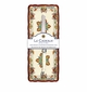 Le Cadeaux Baguette Tray With Bread Knife Autumn Blossom