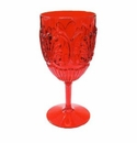 Le Cadeaux Bistro Polycarbonate Wine Glass - Red