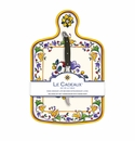 Le Cadeaux Capri Cheese Board With Knife