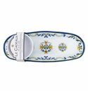 Le Cadeaux Floral Harvest Bowl And Tray Gift Set