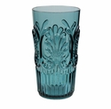 Le Cadeaux Polycarbonate Fleur Highball Glass - Teal