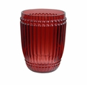 Le Cadeaux Polycarbonate Milano Small Tumbler - Berry Red