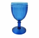 Le Cadeaux Polycarbonate Milano Wine Glass - Blue