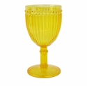 Le Cadeaux Polycarbonate Milano Wine Glass - Yellow