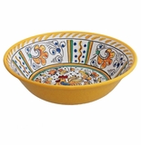 Le Cadeaux Rooster Yellow Cereal Bowl