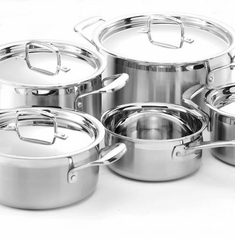Le Creuset Stainless Steel & Hard Anodized Cookware