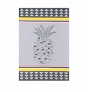 Le Jacquard Pineapple Grey Kitchen Towel 28x20