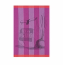 Le Jacquard Vegetable Lilac Kitchen Towel 28x20