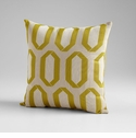 Lime Light Green Decorative Pillow by Cyan Design
