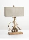 Lindley Wood Table Lamp by Cyan Design