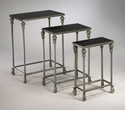 Livingston Granite Nesting Tables Set (3) by Cyan Design