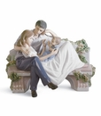 Lladro A Priceless Moment Young Family Figurine