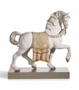 Lladro A Regal Steed Horse Figurine