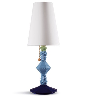 lladro belle de nuit large table lamp multicolor. Black Bedroom Furniture Sets. Home Design Ideas