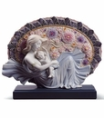 Lladro Blossoming of Life Figure