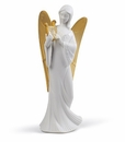 Lladro Celestial Melody Tree Topper Angel Re-Deco Figure