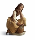 Lladro Classic Water Carrier - Woman Figurine