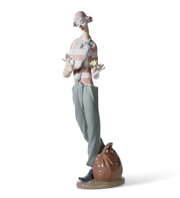 Lladro clown in love porcelain figurine - Consider including lladro porcelain figurines home decoration ...