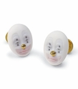 Lladro Cufflinks Kind Clown