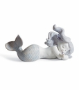 Lladro Day Dreaming At Sea Porcelain Figurine