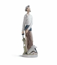 Lladro Don Quixote Standing Up Porcelain Figurine