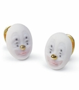 Lladro Earrings Kind Clown