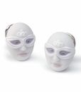 Lladro Earrings Mask Face