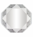Lladro Eight-Sided Mirror Black and White