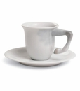 Lladro Equus Coffee Cup With Saucer