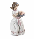 Lladro For A Special Someone Girl Porcelain Figurine