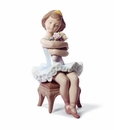 Lladro Girl First Performance Porcelain Figurine