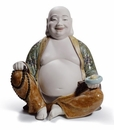 Lladro Happy Buddha Porcelain Figurine