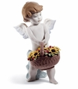 Lladro Heaven's Harvest 60Th Anniversary Porcelain Figurine