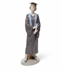 Lladro Her Commencement Graduation Girl Porcelain Figurine
