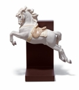 Lladro Horse On Pirouette Figurine