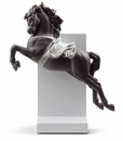 Lladro Horse On Pirouette Re-Deco Porcelain Figurine