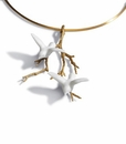 Lladro Magic Forest Pendant Necklace