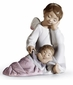 Lladro My Guardian Angel Figurine (Pink)