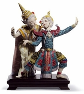 Lladro Oriental Traditions Figurines